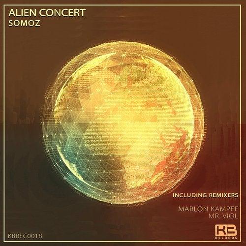EP Alien Concert - Somoz - Klubinho - KB Records - KBREC0018