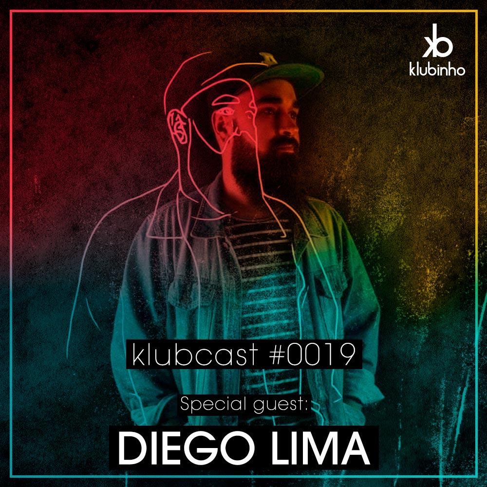 Klubinho Podcast 19 - Diego Lima - KlubCast - KLUBCAST0019 - Podcast gravado pelo produtor Diego Lima - Disponível em Spotify, Youtube, Free Download.